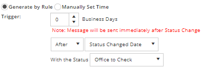 Immediately Send Emails to Clients or Staff When a Status Changes