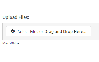 Drag and Drop Images and Files Directly onto a Quote, Job or Other Documents