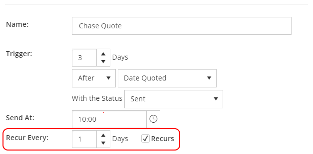 Reminding your Teams, Suppliers and Customers just got easier with Repeating Scheduled Messages