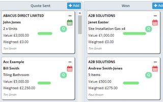 Generate a Quote from a Pipeline Opportunity/Deal with one Click (and auto-move in sequence)