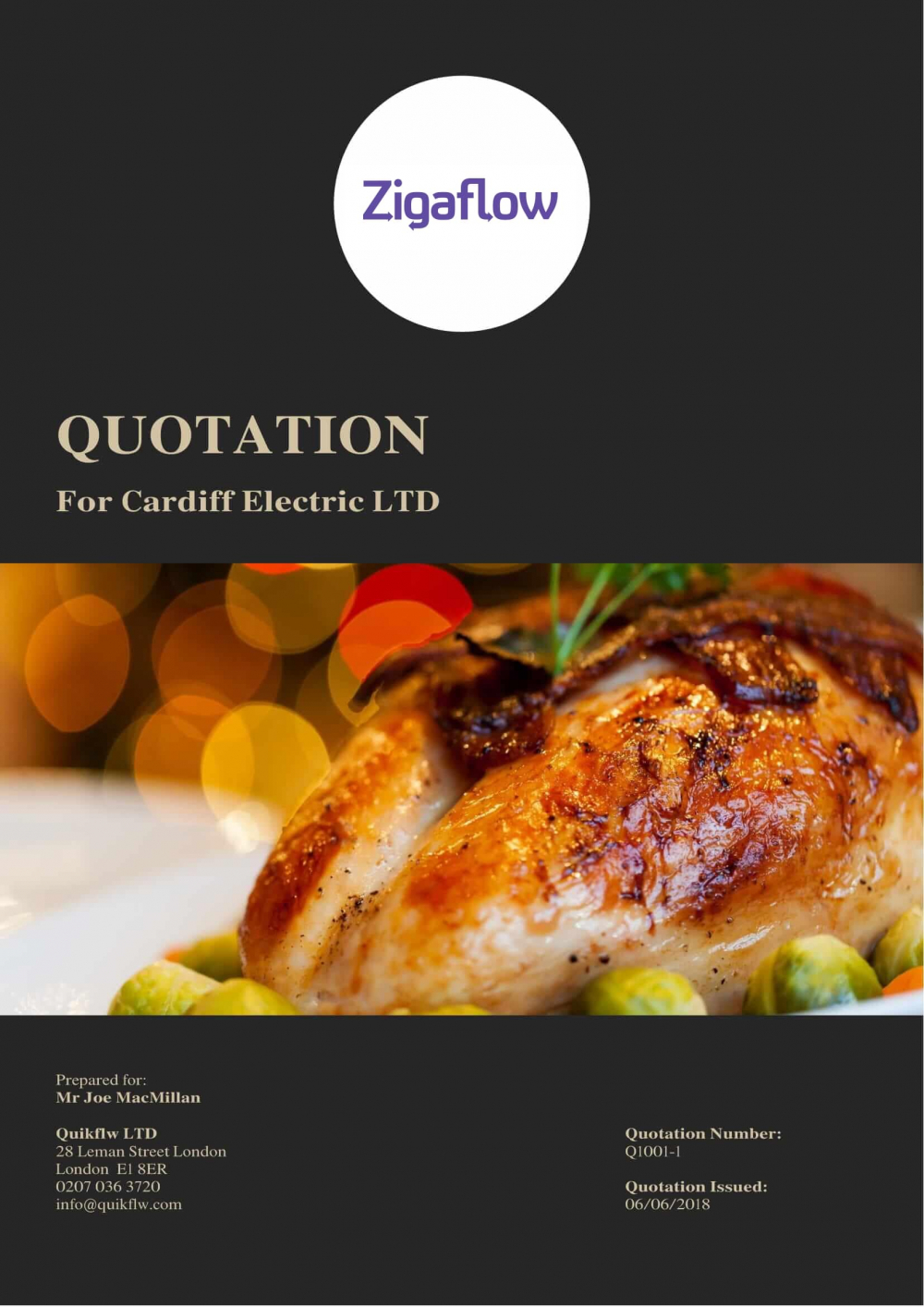 Catering Front Cover