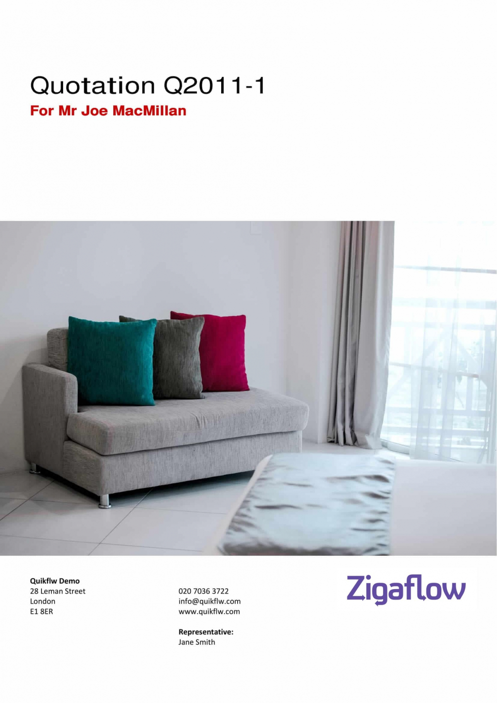 Furniture Front Cover